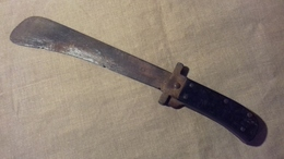 Ancienne Machette Américaine Pliante De L'usaaf WW2 - Armes Blanches