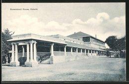 CPA Karachi, Gouvernment House - Postcards