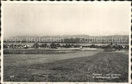 12321043 Founex Vue Generale Lac Leman Montagnes De Savoie Founex - VD Vaud
