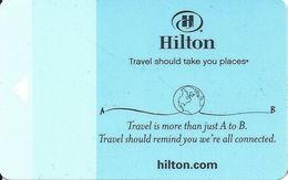 Hilton Hotel Room Key Card - GAI580-35 HHB To Right - Hotel Keycards