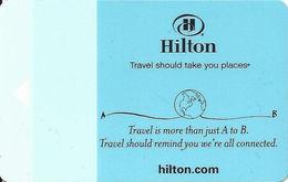 Hilton Hotel Room Key Card - GAI580-35 HHB To Left - Hotel Keycards