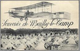 Qsqouvenir Du Camp De Mailly Le Camp - Aérodromes