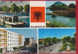 SHKODRA ALBANIE ALBANIA POSTCARD USED - Albania