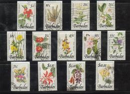 Barbados Flower To $10 1989 To 91 Very Fine Used - Barbados (1966-...)
