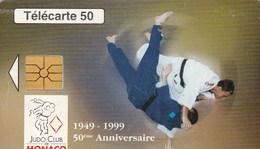 TELECARTE 50  MONACO  FEDERATION MONEGASQUE DE JUDO - Monaco