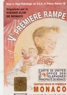 TELECARTE 50  MONACO  Ve PREMIERE RAMPE - Monaco