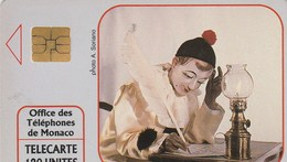 TELECARTE 120  MONACO  AUTOMATES ET POUPEES D'AUTREFOIS  MUSEE DE MONACO - Monaco