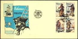 BAHAMAS-SEA PIRATES-FDC-1987-BX1-382 - Bahamas (1973-...)
