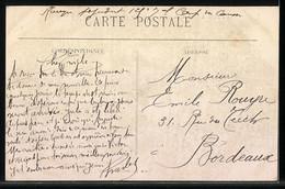 CPA Castres, Le Sidobre, Le Rocher Tremblant De La Rouquette, Zwei Männer An Der Formation Rocheuse - Cartes Postales