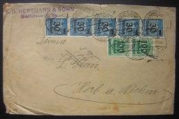 Bischofswerda F. G Hermann & Sonh 30 Tausend X5 + 100 Tausend X 2 ( Deutsches Reich Allemagne) - Allemagne