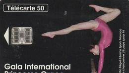 TELECARTE 50  MONACO  GALA INTERNATIONAL PRICESSE GRACE - Monaco
