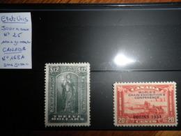 ETATS UNIS N° 25 Journaux Et CANADA N° 168 A ( Timbres Neufs Sans Gomme) - Stamps