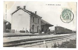 36 ECUEILLE LA GARE 1904 CPA 2 SCANS - France