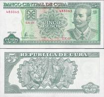 Cuba 2009 - 5 Pesos - Pick 116k UNC - Cuba