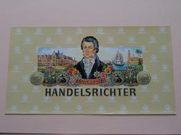 """FLOR * FINA - HANDELSRICHTER """" ERMURI """" ( Formaat > 13 X 24 Cm. / 50 Stuks/Pcs. ) ! - Etiketten"""