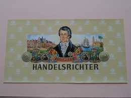 "FLOR * FINA - HANDELSRICHTER "" ERMURI "" ( Formaat > 13 X 24 Cm. / 50 Stuks/Pcs. ) ! - Etiquettes"