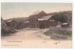 Denée-Maredsous: La Gare. - Anhée