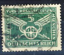 Germania Reich 1925 UN Serie N. 363 P. 5 Verde Usato Cat. € 7 - Gebraucht