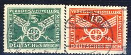 Germania Reich 1925 UN Serie N. 363-364 Usati Cat. € 20 - Gebraucht