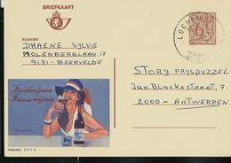 Publibel Obl. N° 2731  ( Vin De France: Cucugnan) Obl. Lochristi Touristique - Stamped Stationery