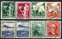Germania Terzo Reich 1936 UN Quattro Diverse Serie Usate Cat. € 9,50 - Gebraucht