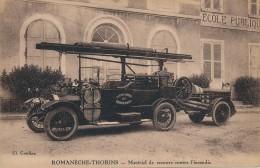 H113 - 71 - ROMANECHE-THORINS - Saône-et-Loire - Matériel De Secours Contre L'incendie - Sapeurs-Pompiers - France