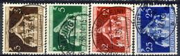 Germania Terzo Reich 1936 UN Serie N. 573-5762 Usati Cat. € 3 - Gebraucht