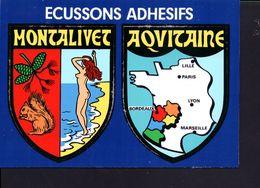 Carte Ecusson Montalivet - France