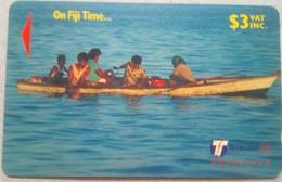 29FJB  Fiji Time $3 - Fiji