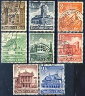 Germania Terzo Reich 1941 UN Serietta N. 675-682 Usati Cat. € 12 - Gebraucht