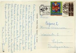 Denmark Postcard Santa Claus - Machine Stamp Motive - Bee/abeille/Biene - Danimarca