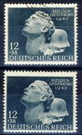 Germania Terzo Reich 1942 UN Serie N. 742 Usato E M Cat. € 4,40 - Gebraucht