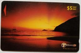 32FJC Sunset $5 - Fiji