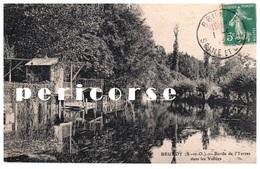 91   Brunoy  Bords De L'Yerres Dans Les Vallées (cabanes De Pêcheurs) - Brunoy