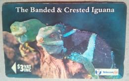19FJB Iguana $3 - Fiji