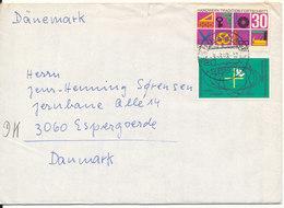 Germany Cover Sent To Denmark 3-3-1963 - [7] West-Duitsland
