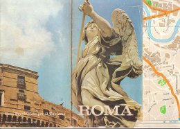 B1932 -  CARTINA MAPPA CITTA' DI ROMA EPT 1972 - Topographical Maps