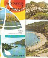 B1948 - Brochure MESSINA Ed.Sagep Anni '80/ALI' TERME/FORZA D'AGRO'/CASTELMOLA/PATTI/GIOIOSA MAREA/MONTALBANO ELICONA - Dépliants Turistici
