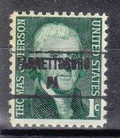 USA Precancel Vorausentwertung Preo, Locals Pennsylvania, Fannettsburg 853 - Vereinigte Staaten