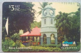 11FJB Suva Landmarks $3 - Fiji