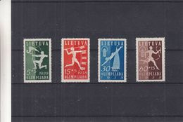 Sports - Tir à L'arc - Javelot - Natation - Relais - Lituanie - Yvert 362 / 5 ** - MNH - Valeur 84 Euros - Lithuania