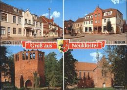 72353827 Neukloster Mecklenburg Ortsmitte Neumarkt Klosterkirche Glockenturm Rui - Deutschland