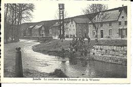 Rochefort  Jemelle Le Confluent De La Lhomme Et De La Wamme - Rochefort