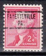 USA Precancel Vorausentwertung Preo, Locals Pennsylvania, Fayetteville 734 - Vereinigte Staaten