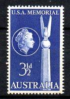 AUSTRALIE. N°219 De 1955. Bataille De La Mer De Corail. - 2. Weltkrieg