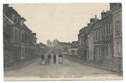 CPA - ENVIRONS D' EVREUX, ROUTE DE GRAVIGNY - Eure 27 - Animée - Collectio Le Berre, Leroux - Evreux