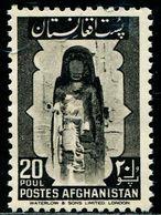 AFH319 Afghanistan 1951 World Heritage Bamiyan Buddha List Price 10 USD 1V MNH - Afghanistan