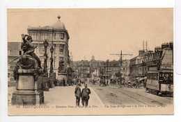 - CPA SAINT-QUENTIN (02) - Nouveau Pont Et Rue De La Fère 1919 (avec Tramway) - Editions Lévy N° 24 - - Saint Quentin