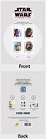 France 2017 Miniature Sheet - Star Wars - Fiscali