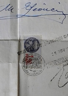 Traduction D Un Acte De Mariage Pour Pension Militaire Commune De Sanfront Italie Billia Et Boero 1940 Timbre Fiscal 1.5 - Documenti